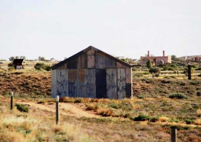 The drovers's hut