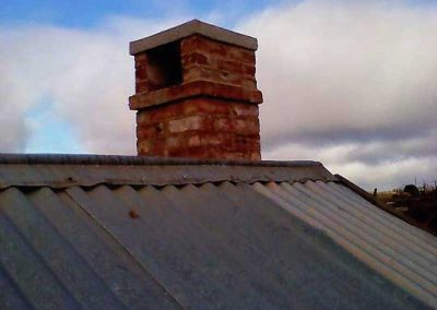 Upgraded chimney