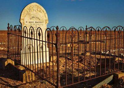 Robert Moffatts grave