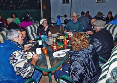 Final dinner at Farina