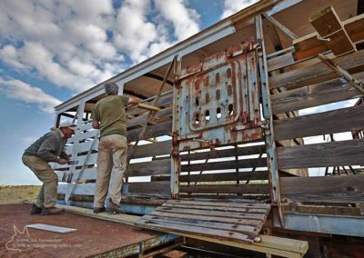 Restoring the cattle truck