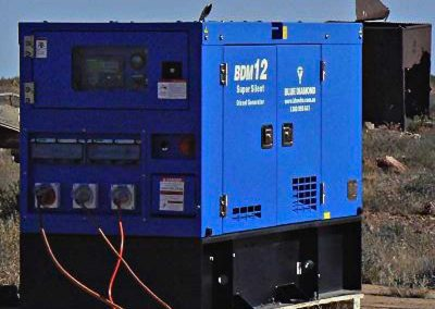 The new generator for catering area.