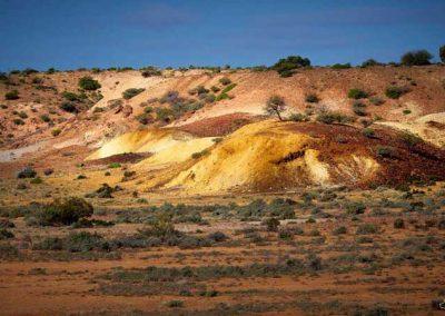 Farina Lakes country Ochre deposits