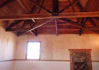 Ceiling looking SE