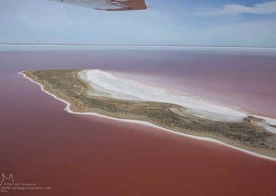 Lake Eyre from the air