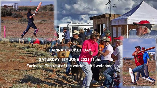 Farina annual Cricket match 19th June 2021